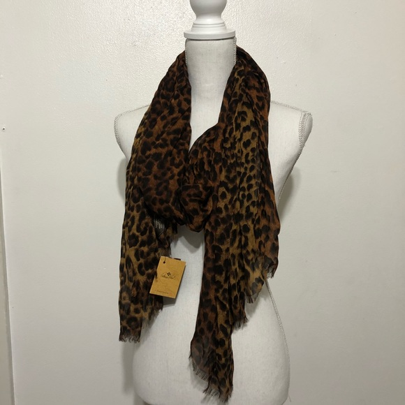 Next Animal Print Scarf new with tags